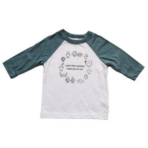 Food Allergy Baseball Tee